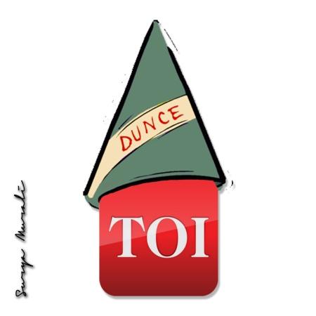 TOI Dunce