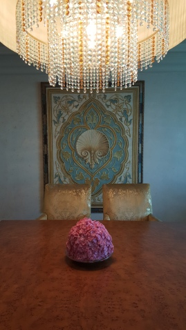 Artwork in the dining room