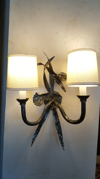 Sea weed wall lamps